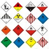 Знаки маркировки опасных грузов ГОСТ 19433-88