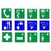 Медицинские и указывающие знаки