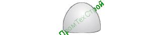 Полусфера бетонная ПБВ-500