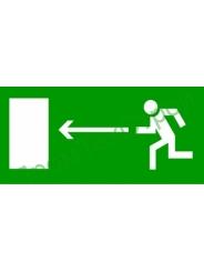 Е04 Направление к эвакуац. выходу налево