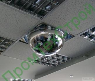 """Зеркало купольное """"Амстронг"""" для подвесного потолка"""