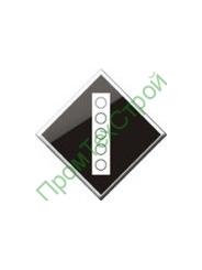 GD-15 Знак «Постоянный сигнальный знак - Поднять токоприемник на электровозе.»