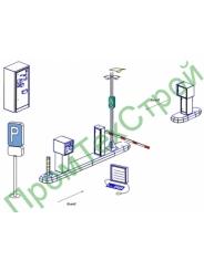 Автоматическая парковочная система АПС-СОН реверсивная комплектация