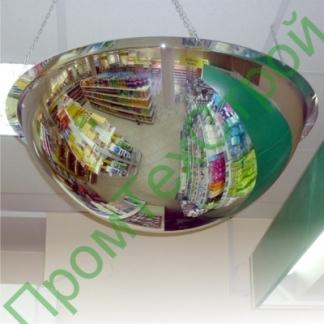Зеркало для помещений купольное