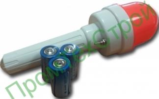 Фонарь сигнальный ФС-4 импульсный с батарейками