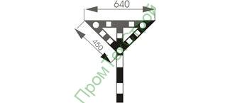 GD-11 Знак «Временный сигнальный знак - Опустить нож, поднять крылья.»