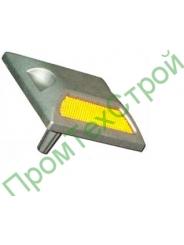 Светоотражатель дорожный КД-3 алюминиевый на ножке