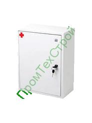 Аптечка первой помощи работникам по приказу Минздравсоцразвития №169Н (металлический шкаф)