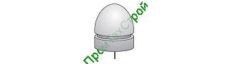 Полусфера бетонная ПБВ-490А