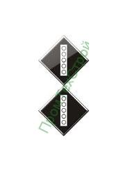 GD-16 Знак «Постоянный сигнальный знак - Поднять токоприемник на электропоезде»