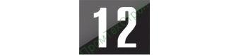 GD-39 Знак «Знаки для нумерации опор контактной сети»