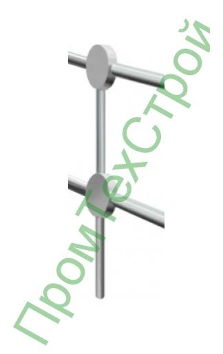 Столб оцинкованный ОПТ-1500.200 СБ