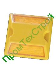Светоотражатель пластиковый с катафотами  КД-3-1