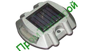 Маячок алюминиевый светодиодный на солнечной батарее МСФ-1