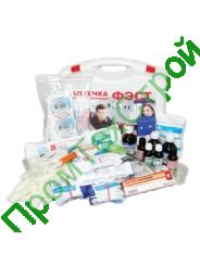 Аптечка коллективная на 15-20 человек (пластиковый чемодан)