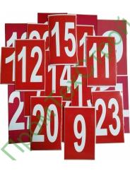 j6 Цифра для нумерации огнетушителя