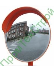 Зеркало уличное с козырьком 800 мм