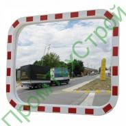 Зеркало дорожное со световозвращающей окантовкой прямоугольное
