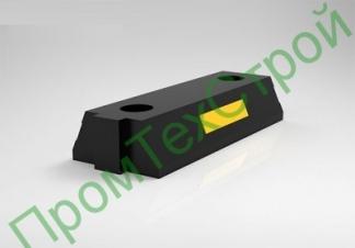 Делиниатор со столбиком основная часть (желтая, черная)