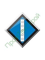 GD-22 Знак «Временный сигнальный знак - Поднять токоприемник.»