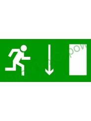 Е09 Направление к эвакуационному выходу