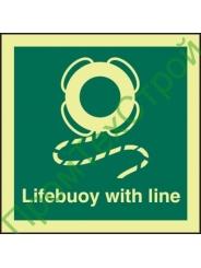IMO2.8 Спасательный круг с линем
